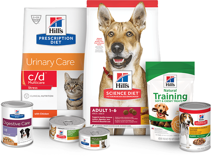 Hills Pet Nutrition Products