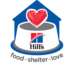 Hill's Food Shelter & Love Logo