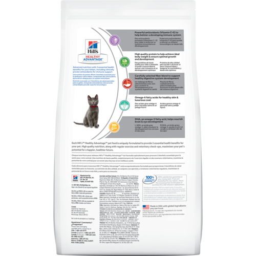 Ideal Balance Dog Food >> Hill's® Healthy Advantage® Kitten - dry