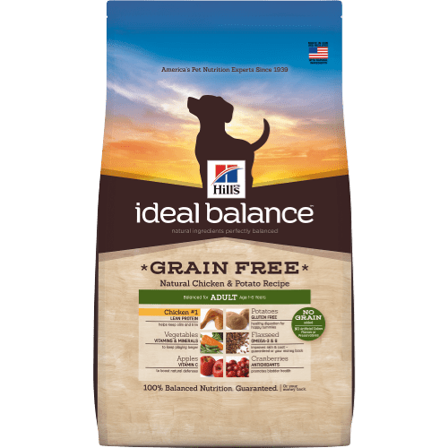 Grain free natural ingredients perfectly balanced