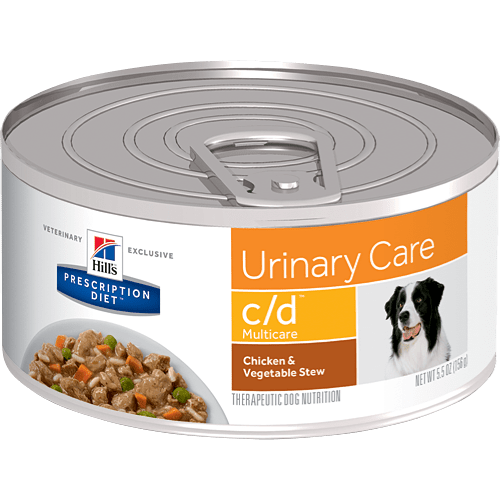 Canned Dog Food For Urinary Problems