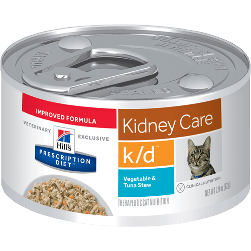 Pd Kd Feline Vegetable And Tuna Stew Canned