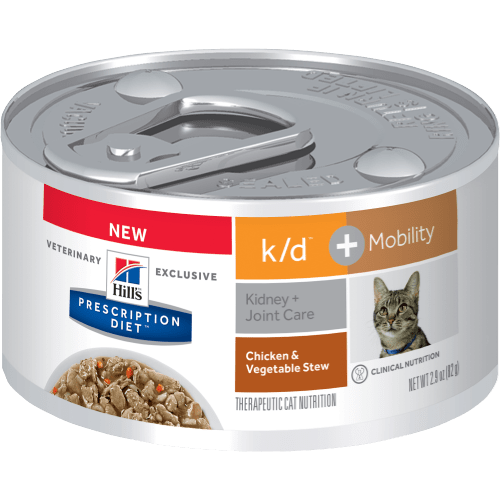 K D Mobility With En Cat Food For Kidney Joint Care
