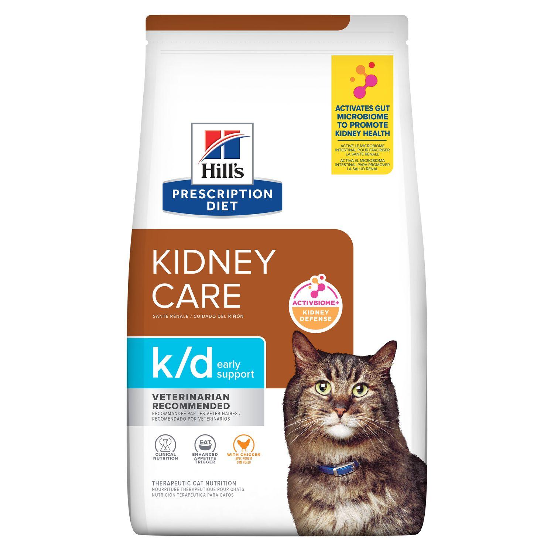 Hill S Prescription Diet K D Early Support Feline Chicken Dry Food