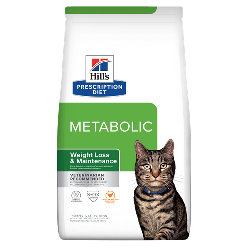 Weight reduction and lifelong maintenance for overweight and obese cats.