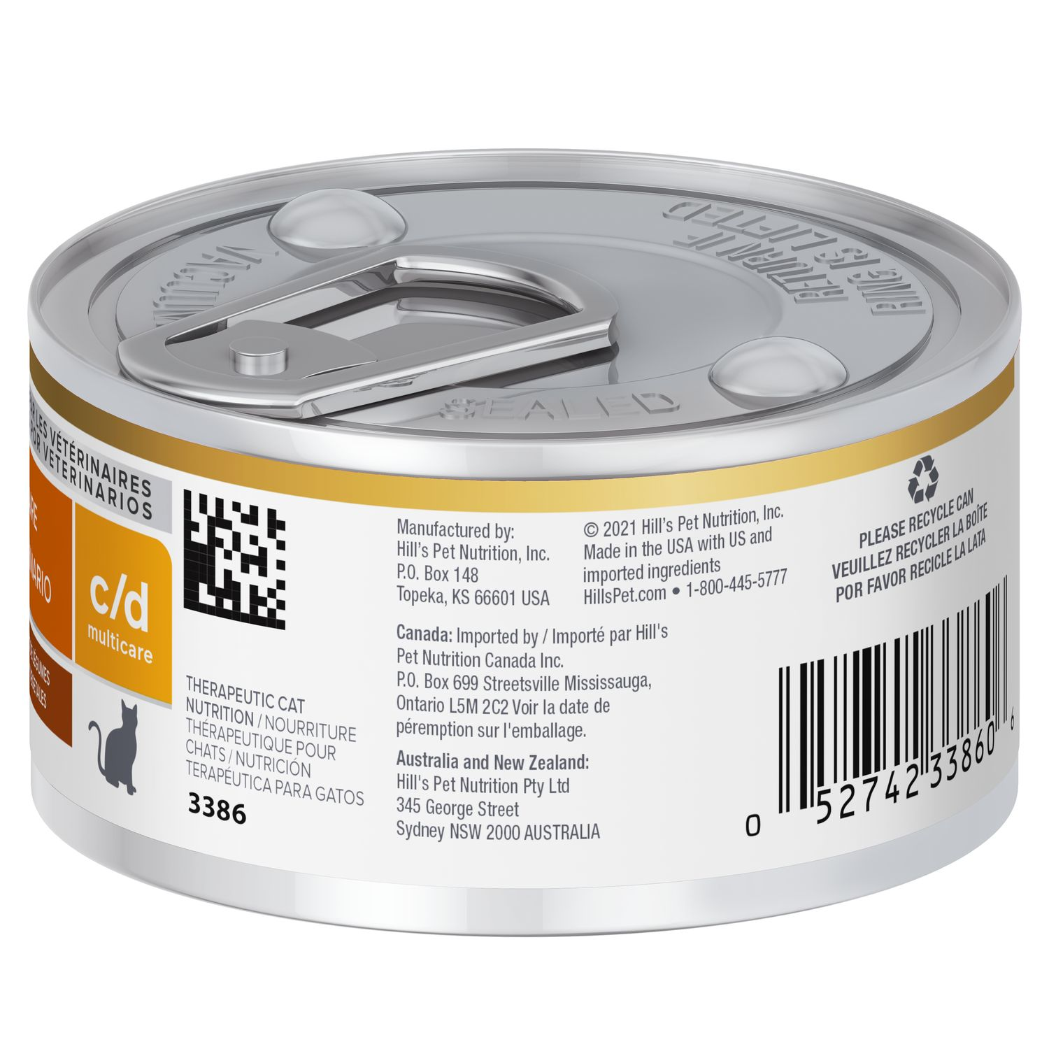 Hill's® Prescription Diet® C/d® Multicare Feline Chicken