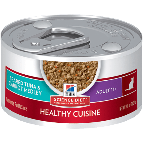Science Diet Senior Canned Cat Food