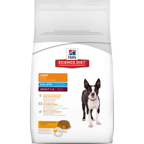 Hill S Science Diet Adult Light Small Bites Dog Food