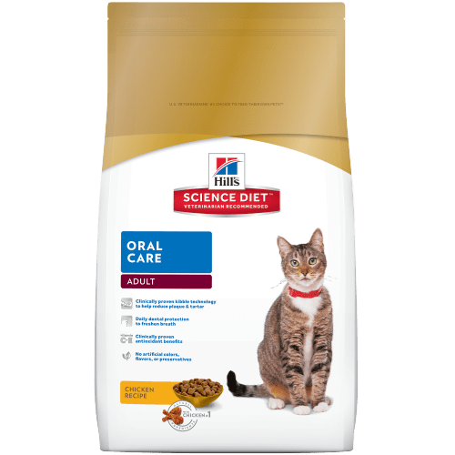 Hills Science Dental Cat Food
