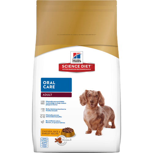 Ideal Balance Dog Food >> Hill's® Science Diet® Adult Oral Care - dry