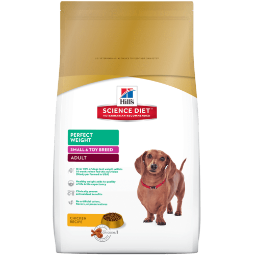 Hill S Science T Perfect Weight Small Toy Breed Dog Food