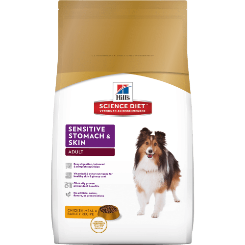Science Diet Adult Sensitive Stomach Dog Food Review
