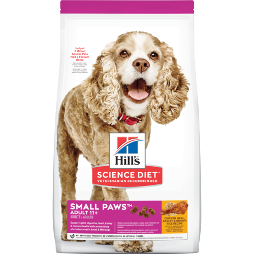 24fa82e94fd Hill's® Science Diet® Adult 11+ Small Paws™ dog food