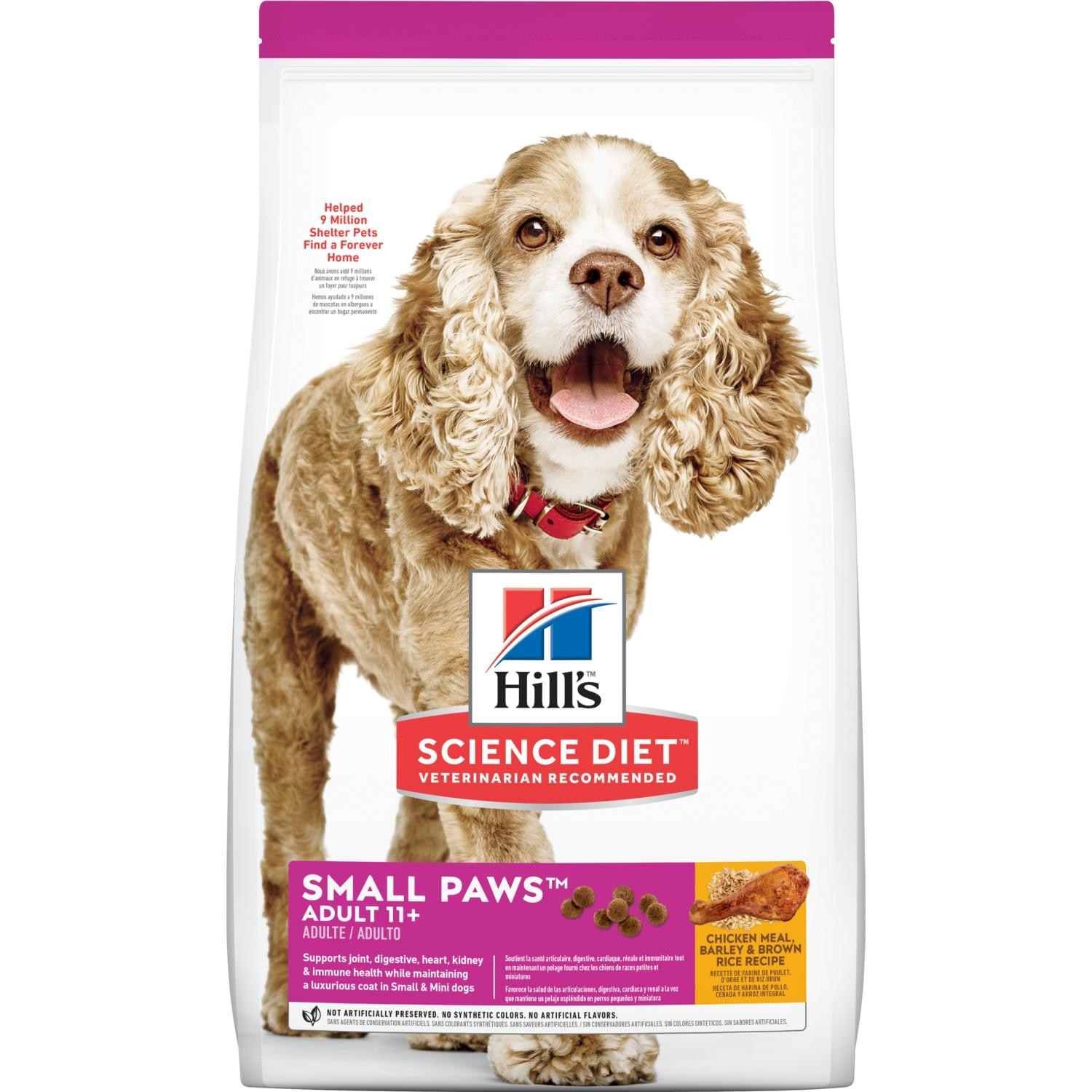 Hill S Science Diet Adult 11 Small Paws Dog Food