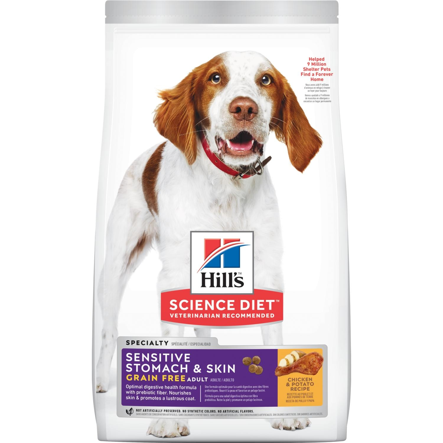 hills science diet dry food without chicken