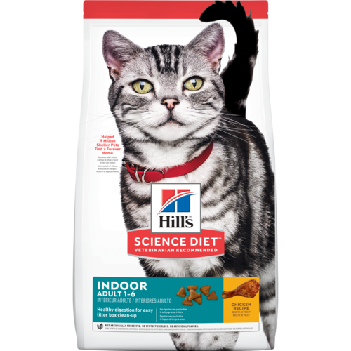 Hill S Science Diet Adult Indoor Cat Food