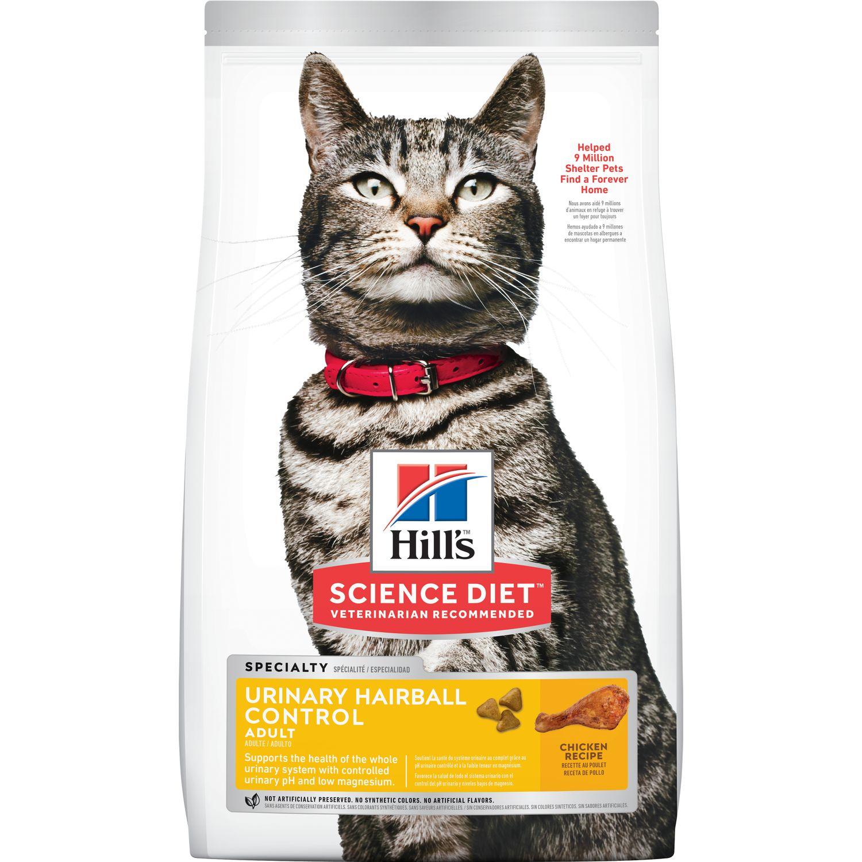 hills science diet cat food bladder